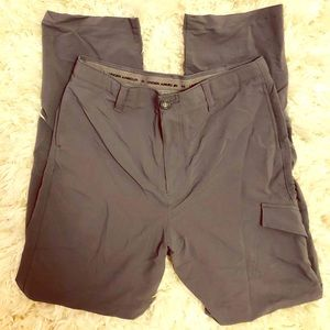 Under Armour gray loose Youth XL khaki style pants